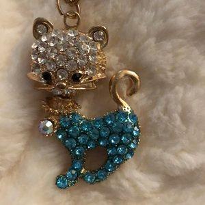 Jewelry - NWT Betsy Johnson Cat Necklace